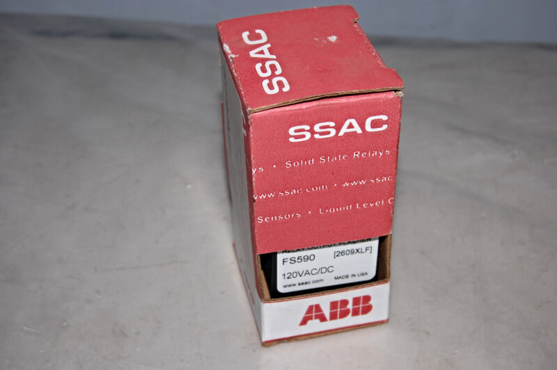ABB FS590 RELAY OUTPUT FLASHER