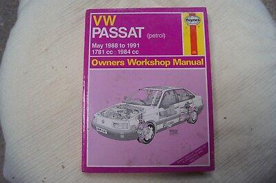 volkswagen passat workshop manual