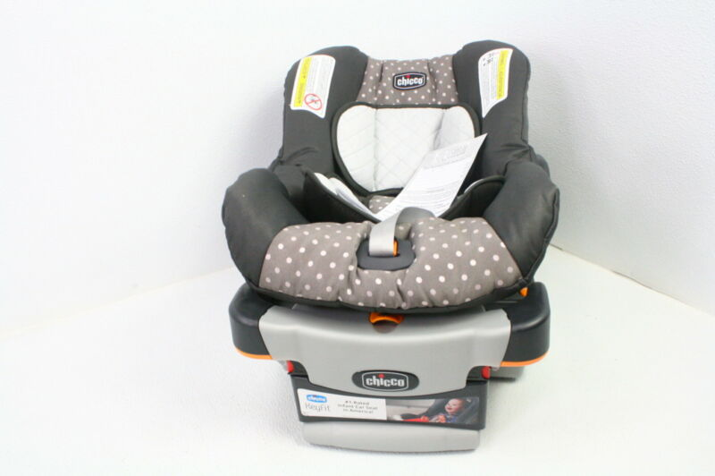 Chicco 04061472670070 KeyFit 30 Rear Facing LATCH Infant Baby Car Seat Lilla