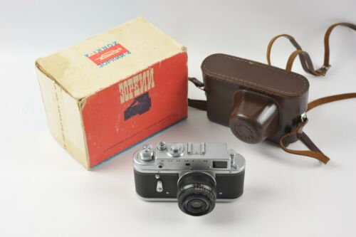 ZORKI-4 Boxed w/Industar 50mm 3.5 Lens & Case
