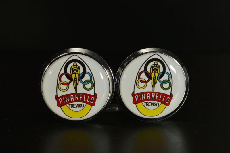 Pinarello Handlebar End Plugs Bar Caps lenkerstopfen bouchons 3D vintage style