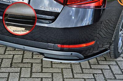 Cupspoiler Frontlippe mit ABE Schwarz glänzend für Skoda Superb II CSL031-G