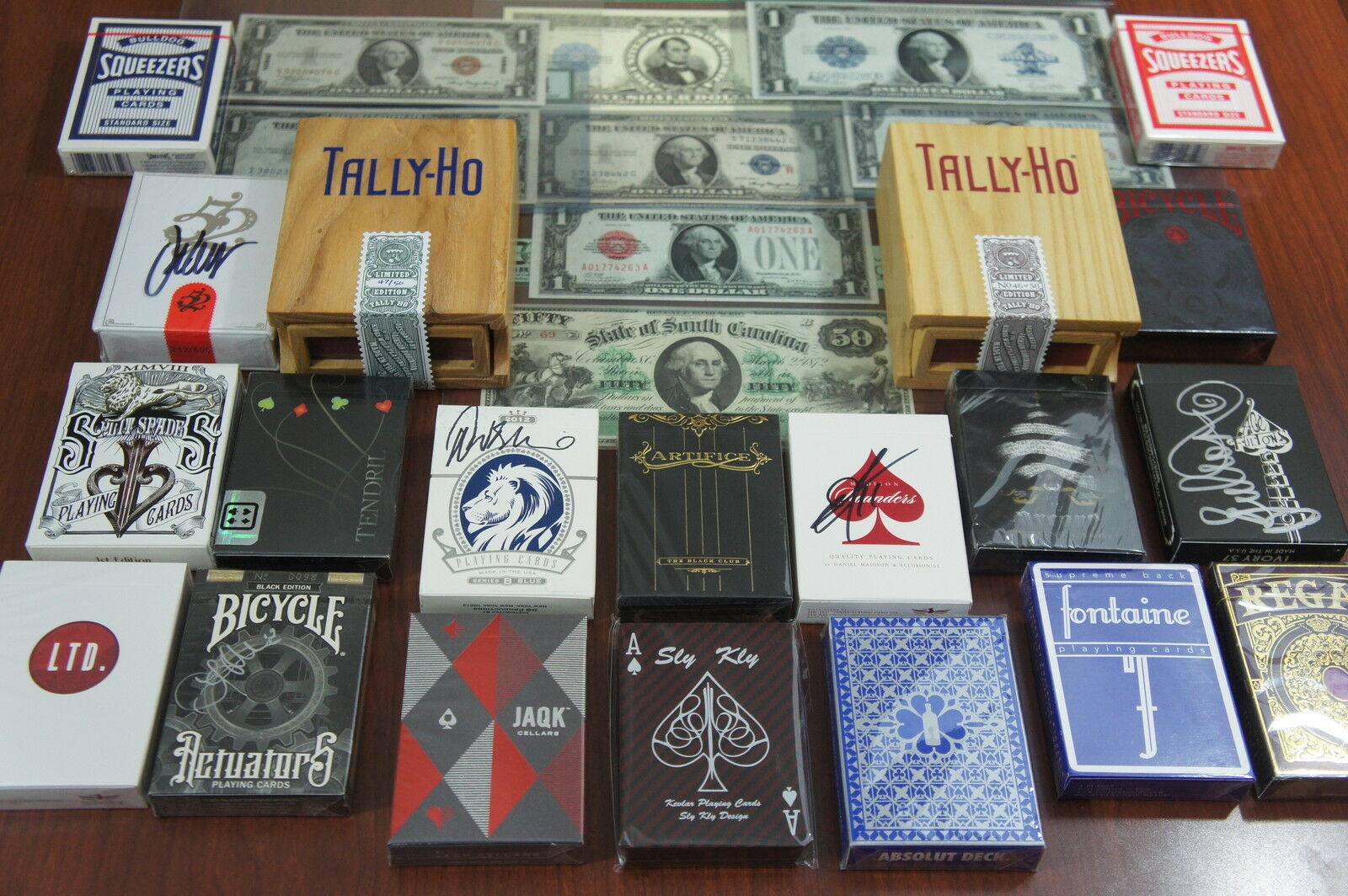Paper Money Playing Cards