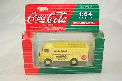 Hartoy Coca Cola Coke 1991 Yellow GMC Delivery Truck 1:64 Die Cast Metal