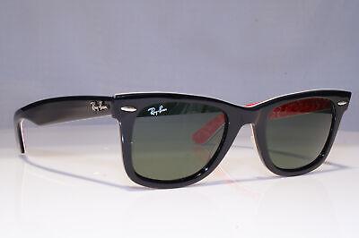 RAY-BAN Mens Designer Sunglasses Black Wayfarer RB 2140 1016 23540