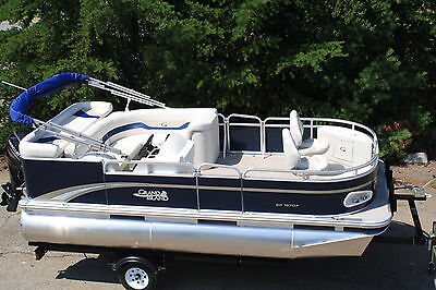 New -16 ft pontoon boat by 7 ft Tahoe pontoon boat