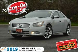 2014 Nissan Maxima SV LEATHER SUNROOF HTD SEATS 78,000 KM
