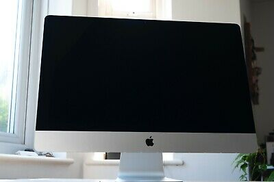 "Apple iMac 27"" Desktop - late 2015. 4GHz Quad-core i7. 32GB RAM."