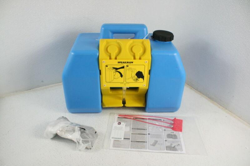 Speakman SE-4400 GravityFlo 9-Gallon Portable Emergency Eyewash Station Blue