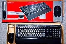Microsoft Wireless Desktop 3000 keyboard and mouse with Blue Trac Palmerston Gungahlin Area Preview