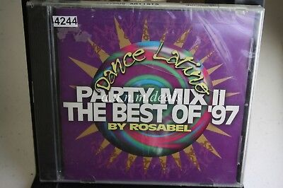 Dance Latino : Party Mix II: The Best Of '97 by Rosabel , 1997 ,Music CD