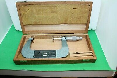 Brown Sharpe 223-3 2-3 Inch Disc Micrometer With 1 Flange