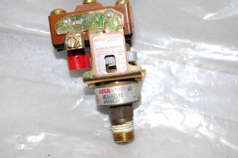 ASCO PRESSURE SWITCH HB26A214S