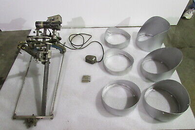 H M Flange Beveling Machine-variable Speed Drive Foot Pedal-victor Torch Head