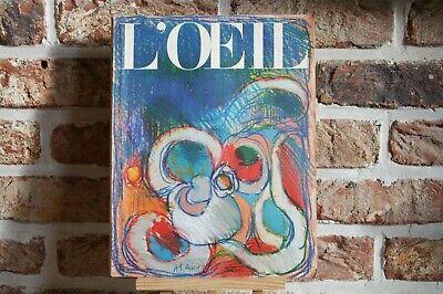 REVUE L'ŒIL N° 161 MAI 1968 .