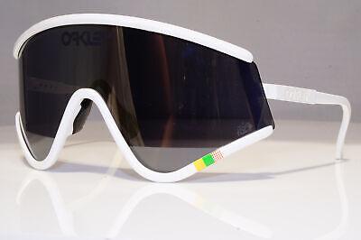 OAKLEY Mens Boxed Sunglasses White Shield HERITAGE EYESHADE OO 9259 04 24907