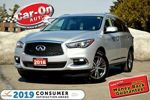 2018 Infiniti QX60 AWD 7 SEAT LEATHER NAV SUNROOF REAR CAM LOADE
