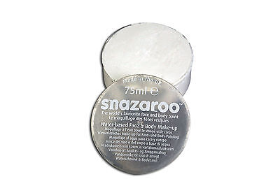 Snazaroo 75ml White Face Paint/Make Up Fancy Dress All Occasions