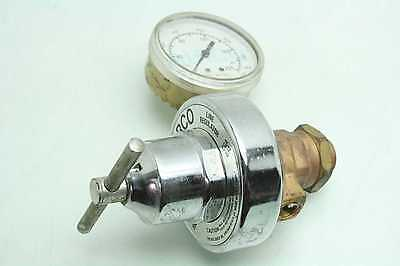 Airco 806-9985 Inert Gas Regulator 150 Psi Range Cga 034 To B 58-18 Threads