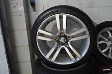 "4 SET 18"" ALLOY WHEELS WITH TYRES COMMODORE VE + GOOD CONDITION Virginia Brisbane North East Preview"