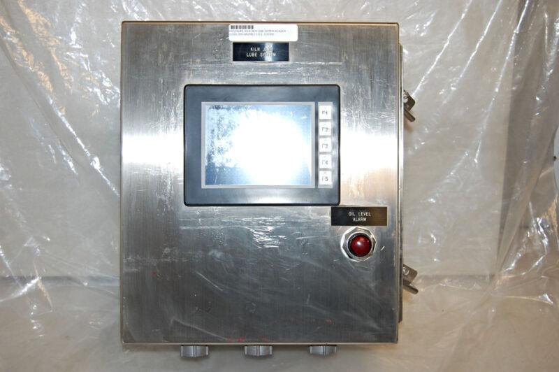 Hoffman A1412chnfss6 Enclosure Box / Automation Direct Ea1s6ml Monitor Panel