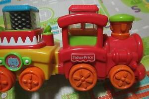 Fisher Price Train With Pick a boo Blocks Baby Toddler Toy Ferntree Gully Knox Area Preview