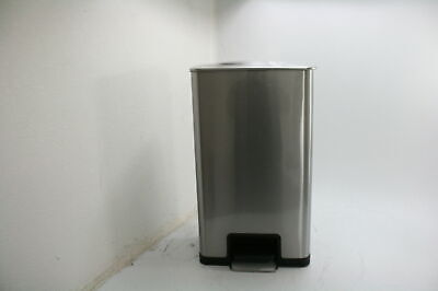 ITouchless PC18SN SoftStep 18 Gal Stainless Steel Step Trash Can Odor System
