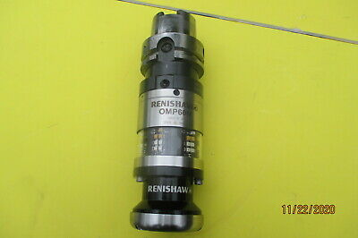 Renishaw Omp60m Modular Probe Module W Kuroda Hsk A 63-mp10 59.5 Tool Holder
