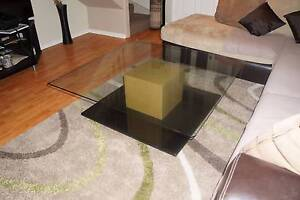 Glass Coffee Table Mount Druitt Blacktown Area Preview