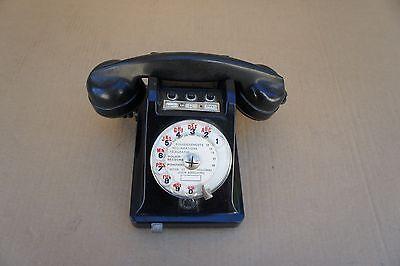 ANCIEN TELEPHONE EN BAKELITE  Sté des TELEPHONES et de l