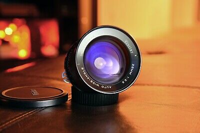 Vivitar 28mm f2.5 Wide Angle Macro/Close Up Prime Lens for Nikon DSLR f-mount fx