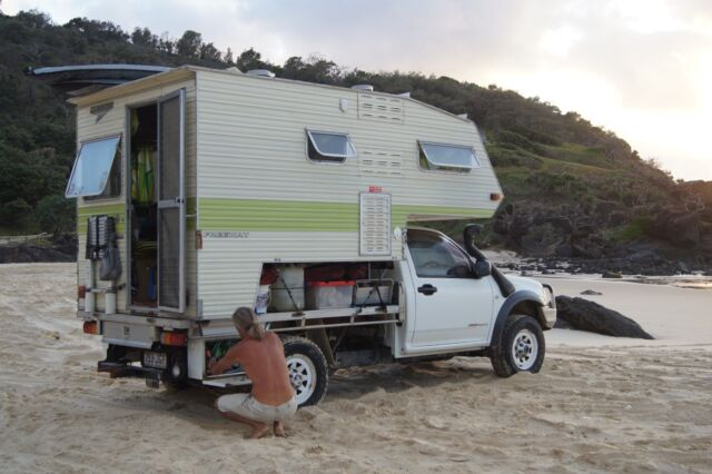 2004 Holden Rodeo Ute 4X4 With Slide On Camper