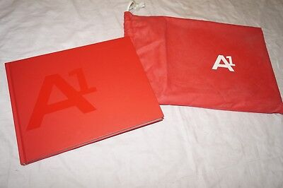 Edle Hard Cover Pressemappe / Audi A1 + CD - Stand 06/2010 + Stofftasche - RAR