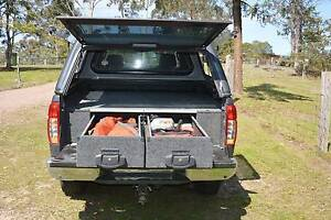 Drawer unit plus side wings to fit Nissan Navara D40 as new Clarence Town Dungog Area Preview