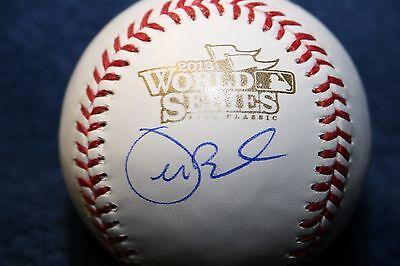 Joe Buck Autographed 2013 World Series Baseball Broadcaster Fox Postseason
