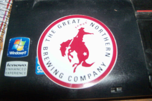 Great Northern Brewing Company Whitefish, Montana Small Round Stickers