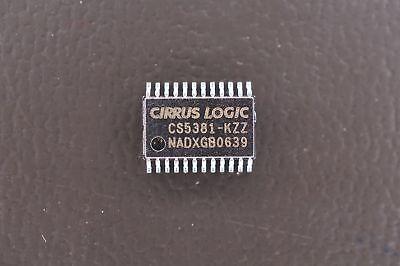 Cs5381-kzz Cirrus 24 Bit Dual Analog To Digital Converter Adc 5v 24 Pin Tssop