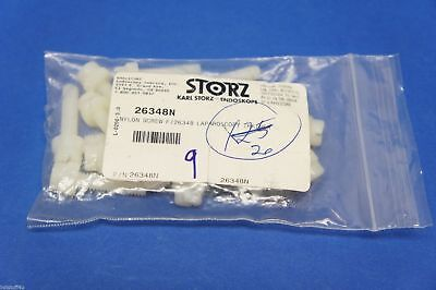 Karl Storz 26348n Nylon Screw For 2634b Laparoscopy Trainer Pack Of 12