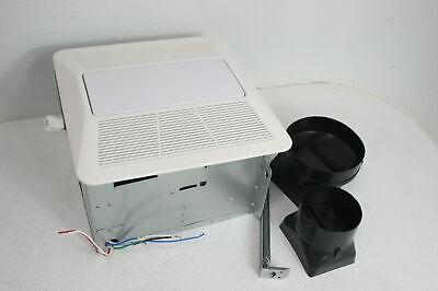KAZE APPLIANCE Ultra Quiet Bathroom Exhaust Fan w LED Light 90 CFM 0.3 Sone