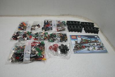 LEGO Creator Expert Winter Holiday Train 10254 Christmas Set w Full Circle Track