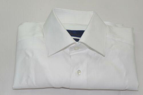 $135 NWOT David Donahue Slim Fit French Cuff Tuxedo or Dress Shirt 15 1/2 -32/33