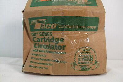 Taco Comfort 125 Hp Cast Iron Circulator Pump 007f5