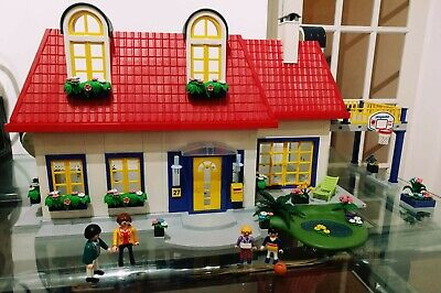Playmobil Set 3965 Modern House Fully Furnished Plus Extras