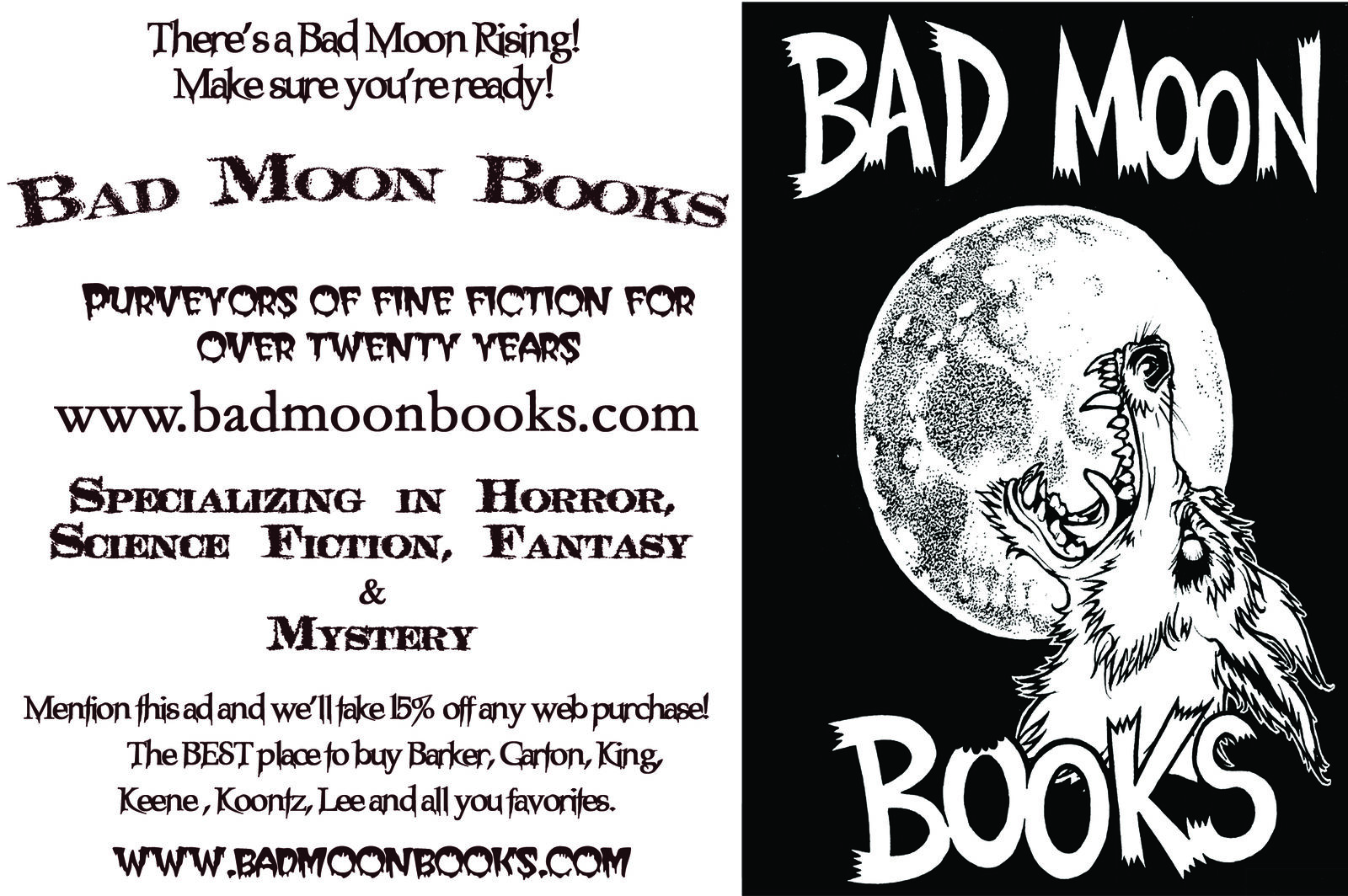 Bad Moon Books