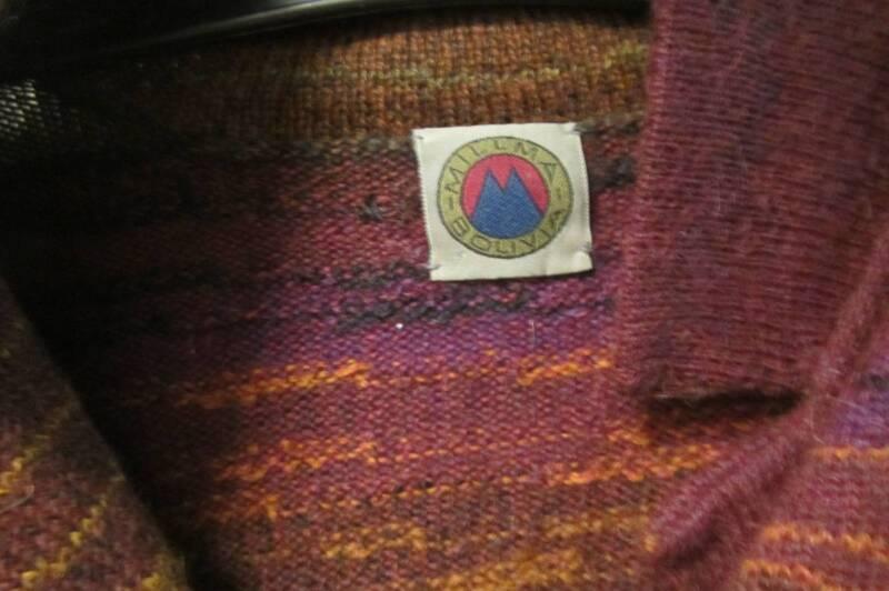 amazing soft ladies cardigan jumper alpaca made in Bolivia