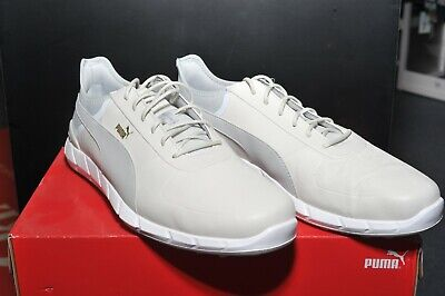 Mens Puma Ignite Spikeless Lux Golf Shoes Size UK 10.5 Brand New In Box