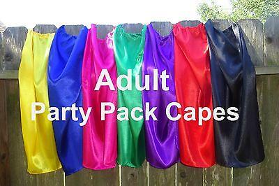 Adults Super Hero Capes Party Favors Bulk Wholesale