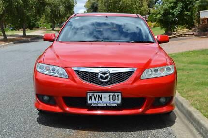 2003 Mazda 6 Luxury Sports Sedan Modbury Heights Tea Tree Gully Area Preview