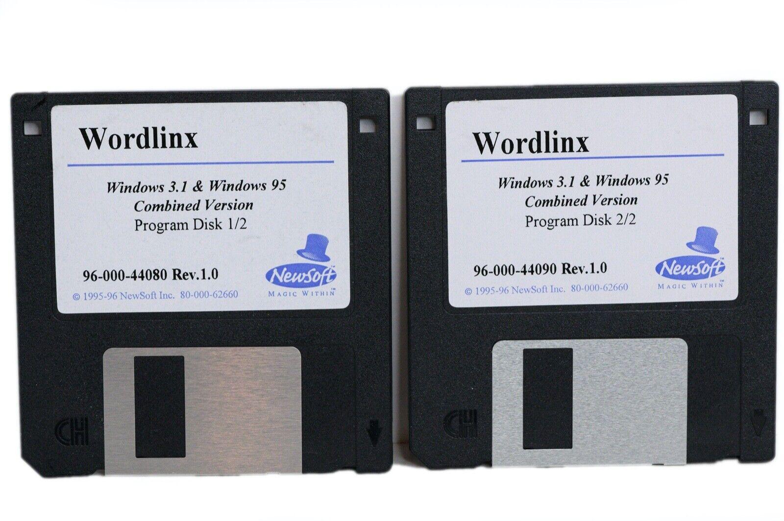 Newsoft Wordlinx OCR Software for Windows 3.1 and Windows 95 Item 96 000 44080