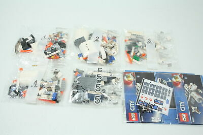 LEGO City Space Lunar Space Station 60227 Space Station Building Set 412 Pieces
